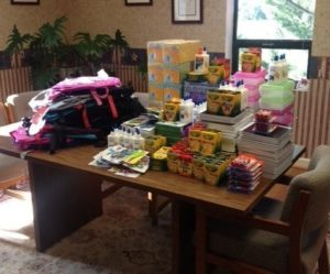 School Supplies Drive, Beltsville